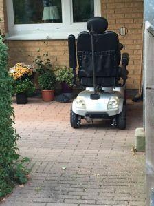 En permobil/scooter