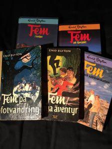 Fem Femböcker. Gillar originalutgåvorna bäst.