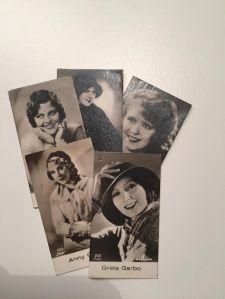 Fem filmstjärnor kvinnor.
