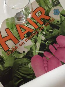 Poster från Hair, en av mina favoritmusikaler.