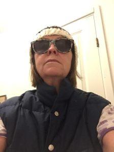 Helly Hansen dunväst från mina glansdagar som skidåkare